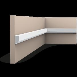 Listwa ścienna gładka gięta (flex) P9050F (wym.200x1.3x2.5cm)