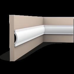 Listwa ścienna gładka gięta (flex) P9901F (wym.200x1.4x7cm)