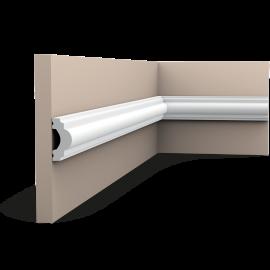 Listwa ścienna gładka gięta (flex) PX120F (wym.200x1.9x4cm)