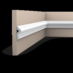 Listwa ścienna gładka gięta (flex) PX175F (wym.200x5x1.7cm)