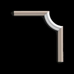 Narożnik P8030C* (do listwy P8030) (wym.19x8.6x1.7cm)