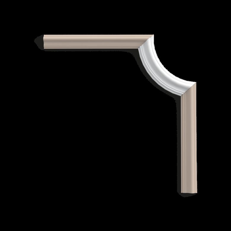 Narożnik P8030C*(do listwy P8030) (wym.19x8.6x1.7cm)