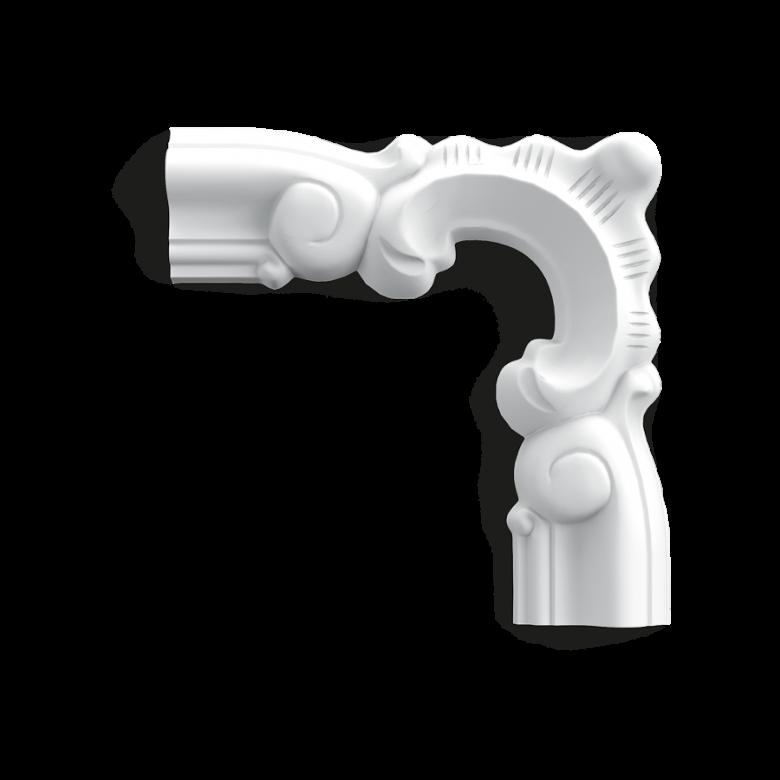 Narożnik P8030D* (do listwy P8030) (wym.13.2x13.2x1.7cm)