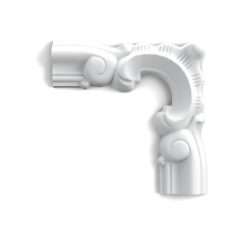 Narożnik P8030D (do listwy P8030) (wym.13.2x13.2x1.7cm)