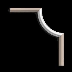 Narożnik PX103A* ( do listwy PX103) (wym.19x3.5x1.2cm)