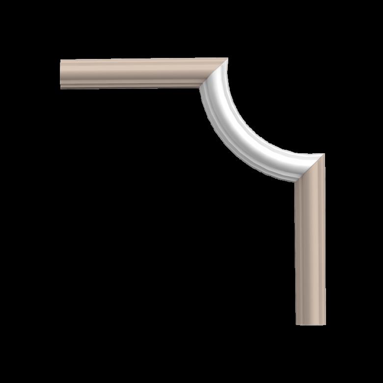 Narożnik PX120A* (do listwy PX120) (wym.19x8.8x2cm)