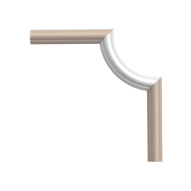 Narożnik PX120A (do listwy PX120) (wym.19x8.8x2cm)