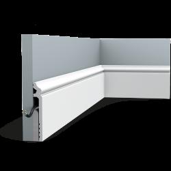 Listwa przypodłogowa maskująca SX186 (wym.200x2.2x13.8cm)