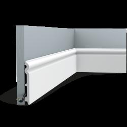 Listwa przypodłogowa gięta (flex) SX138F (wym.200x1.5x13.8cm)