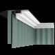 Listwa przysufitowa gładka C390 (wym.200x10x6cm)