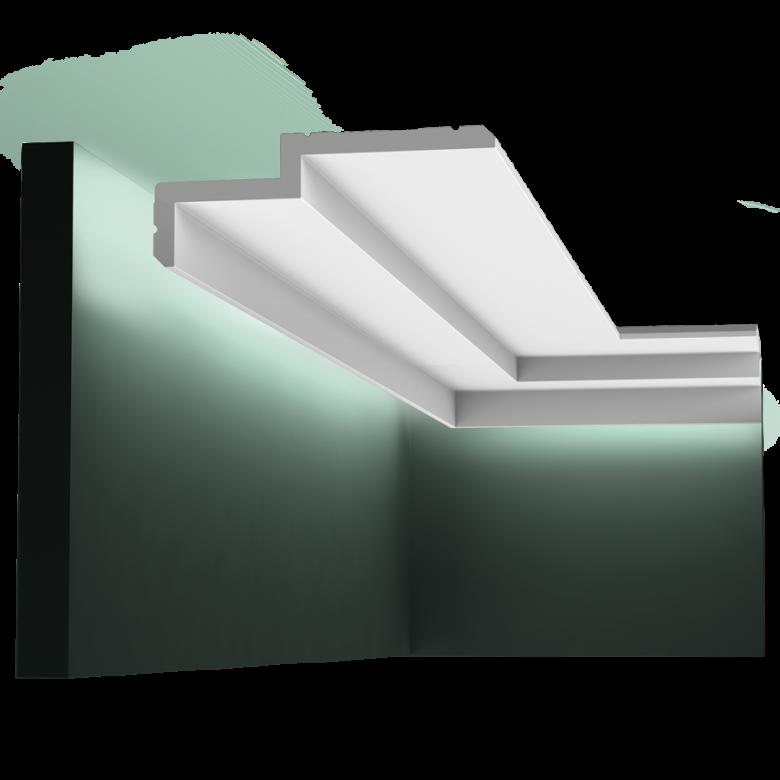 Listwa przysufitowa gładka C391* (wym.200x16x6cm)