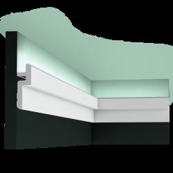 Listwa oświetleniowa gładka C394 (wym.200x3.1x9.5cm)