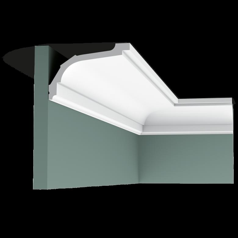 Listwa przysufitowa gięta (flex) gładka C220F (wym.200x7.6x11.6cm)