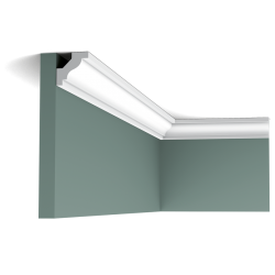 Listwa przysufitowa gięta (flex) gładka C230F (wym.200x2.9x2.9cm)