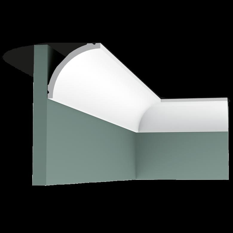 Listwa przysufitowa gięta (flex) gładka C240F (wym.200x8x8cm)