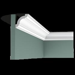 Listwa przysufitowa gięta (flex) gładka C124F (wym.200x4.9x4.9cm)