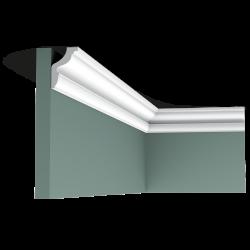 Listwa przysufitowa gięta (flex) gładka CX148F (wym.200x4.3x2.9cm)