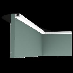 Listwa przysufitowa gięta (flex) gładka CX190F (wym.200x2x3cm)