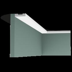 Listwa przysufitowa gładka gięta (flex) SX162F (wym.200x1x4cm)