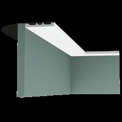 Listwa przysufitowa gięta (flex) gładka SX163F (wym.200x1.3x10.2cm)