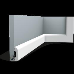 Listwa przypodłogowa gięta (flex) gładka SX182F (wym.200x1.3x5cm)
