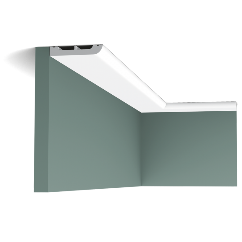 Listwa przysufitowa gięta (flex) gładka SX183F (wym.200x1.3x5cm)