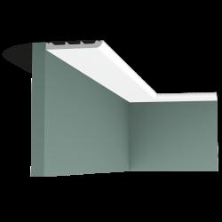 Listwa przysufitowa gięta (flex) gładka SX184F (wym.200x1.3x11cm)