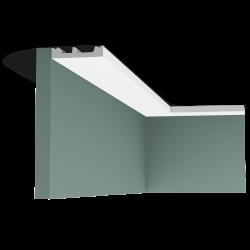 Listwa przysufitowa gięta (flex) gładka SX157F (wym.200x1.3x6.6cm)
