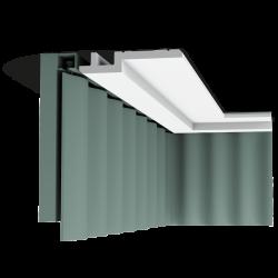 Listwa przysufitowa gładka C395 (wym.200x3x15.5cm)