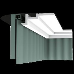 Listwa przysufitowa gładka C396 (wym.200x6.1x18.5cm)