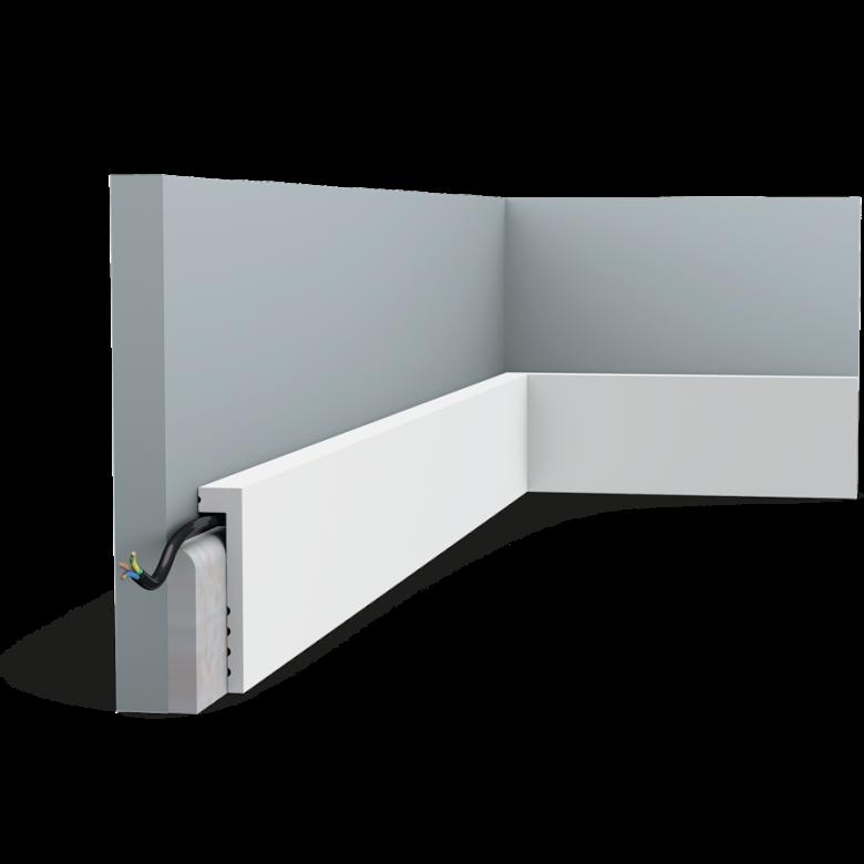 Listwa przypodłogowa SX171 (wym.200x10x2.2cm)