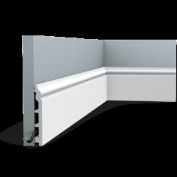 Listwa przypodłogowa SX118F (wym.200x13.8x1.8cm)