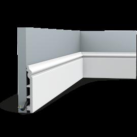 Listwa przypodłogowa maskująca SX118F (wym.200x13.8x1.8cm)