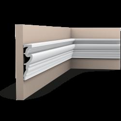 Listwa ścienna gładkaDX170-2300 (wym.230x3.2x11.9cm)