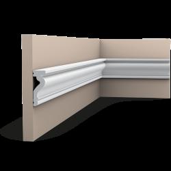 Listwa ścienna gładka DX174-2300* (wym.230x2.2x6cm)