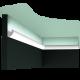 Listwa oświetleniowa gładka C188 (wym.200x3.4x3cm)