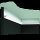 Listwa oświetleniowa gładka CX189 (wym.200x2.7x2.7cm)