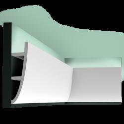 Listwa oświetleniowa gięta (flex) gładka C374F (wym.200x18x5cm)