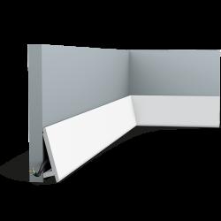 Listwa oświetleniowa gięta (flex) gładka CX179F (wym.200x9.7x2.9cm)