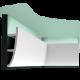 Listwa przysufitowa gładka C374 (wym.200x18x5cm)