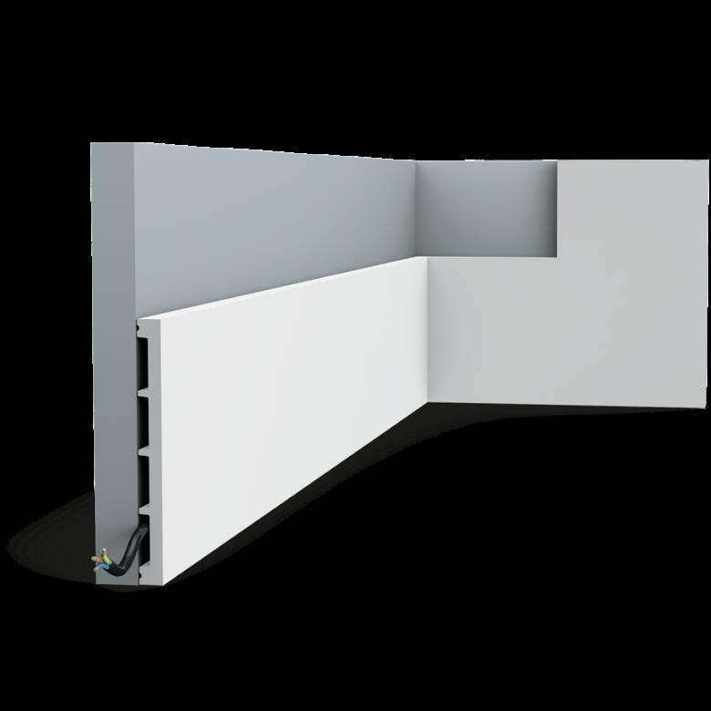 Listwa wielofunkcyjna DX168-2300* (wym.230x1.4x15.1cm)
