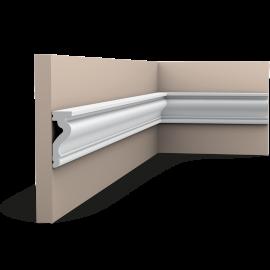 Listwa ścienna gładka gięta (flex) DX174F (wym.200x2.2x6cm)