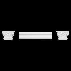 Pilaster K201LR (wym.22.8x6.2x14.9cm)