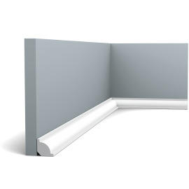 Uniwersalny ćwierćwałek wykończeniowy wypukły CX132 (wym.200x2x2cm)