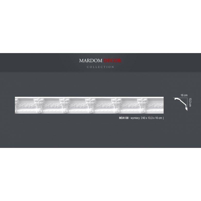 Listwa sufitowa poliuretanowa Mardom Decor MDA138 ( AA138 )