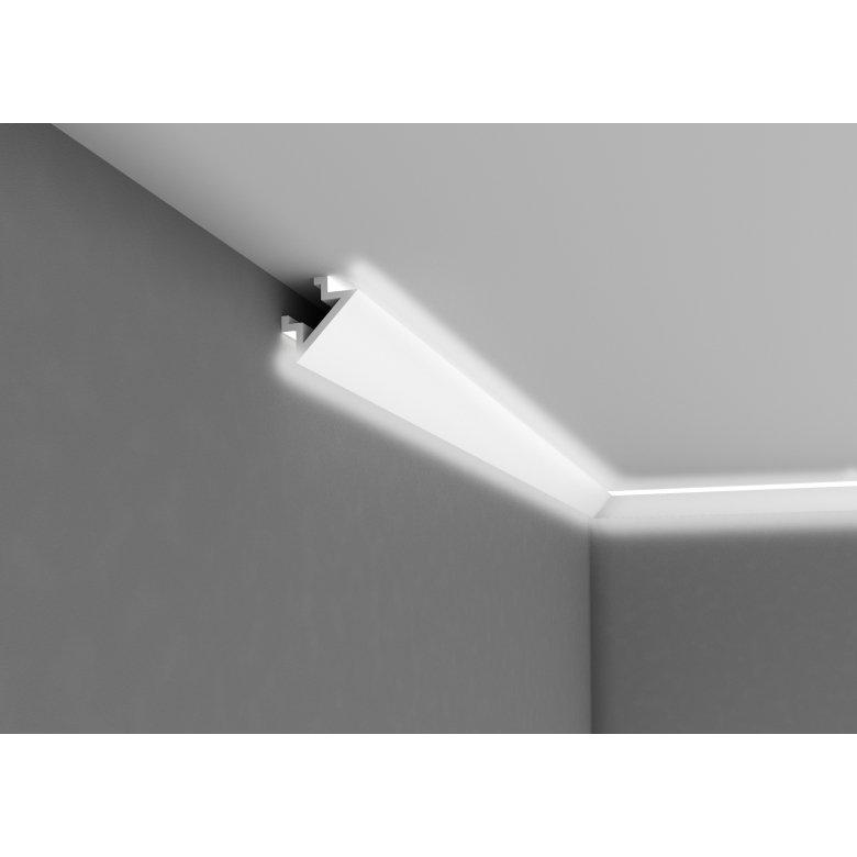 Listwa poliuretanowa Mardom Decor oświetleniowa dwustronna sufit ściana QL004 Kolekcja Duo MARDOM DECOR - 1