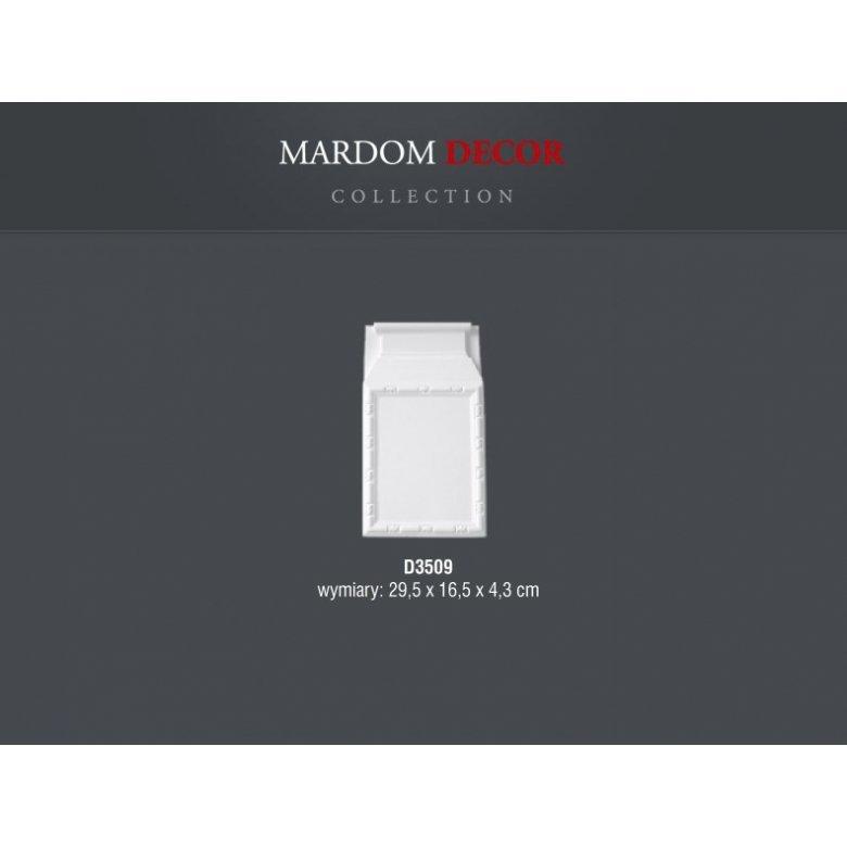 Dekoracyjna baza pilastra Mardom Decor D3509 MARDOM DECOR - 1