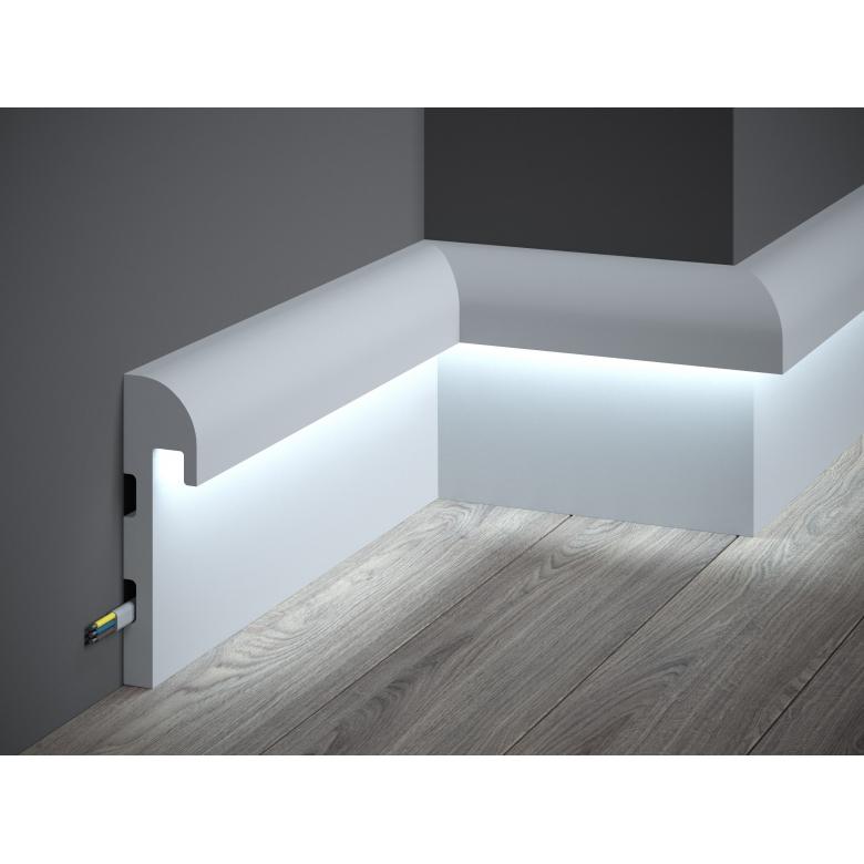 Listwa poliuretanowa Mardom Decor oświetleniowa LED QL015 Paper