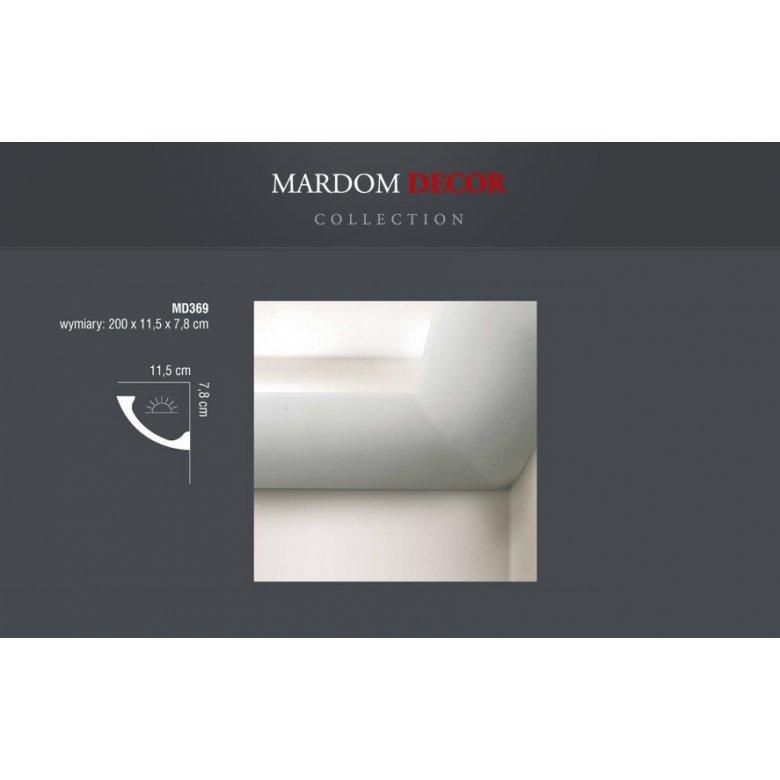 Listwa poliuretanowa Mardom Decor oświetleniowa MD369 MARDOM DECOR - 1