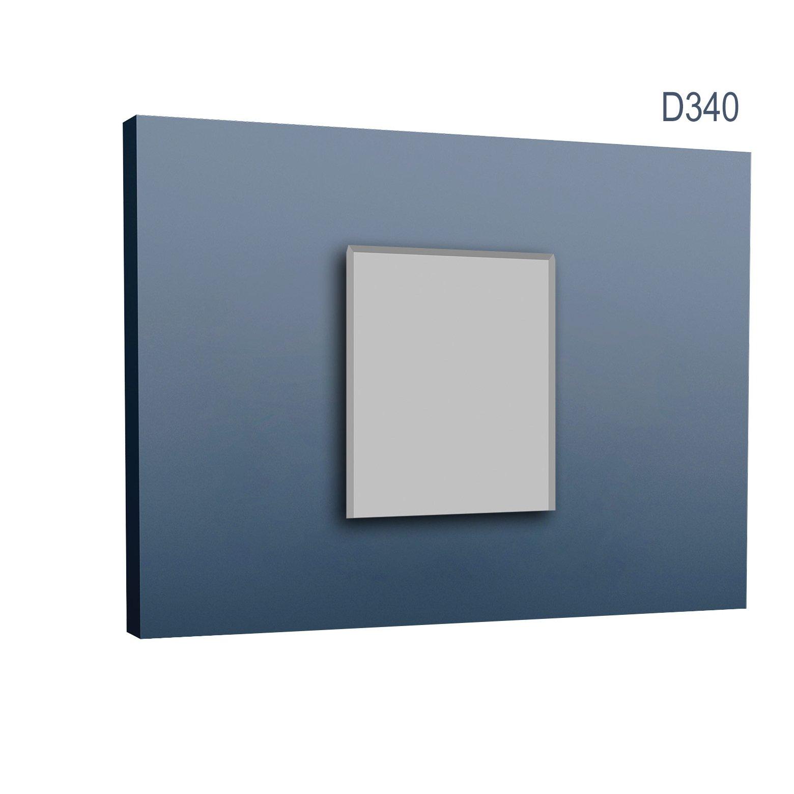 Element dekoracyjny do listwy drzwiowej D340 (wym.7x11x2.5cm)